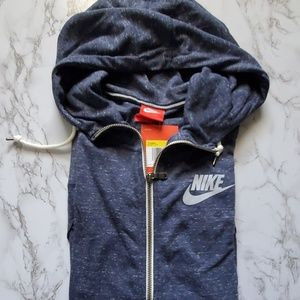 Nike Gym Vintage zip up hoodie sz small